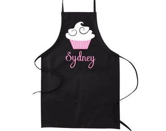 Aprons for Women, Personalized Apron, Mothers Day Gift, Cooking Apron, Kitchen Apron, Gift for Baker, Baking Gift, Custom Apron, Name