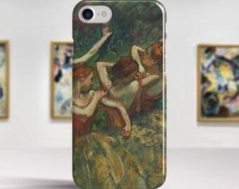 """Edgar Degas, """"Four Dancers"""". iPhone 8 Case Art iPhone 7 Case iPhone 6 Plus Case and more. iPhone 8 TOUGH cases. Art iphone cases."""