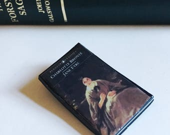 Miniature Book Brooch Jane Eyre