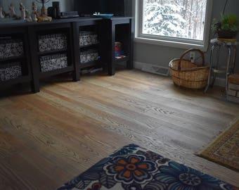 Ready to Install Salvaged Wood Floor, Ash Floor, Barnwood Flooring, Reclaimed Wood, Rustic Ash Flooring, Barn Flooring