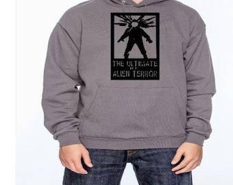 The Thing Alien Terror Unisex Hoodie Pullover Hooded Sweatshirt Many Sizes Colors Custom Horror Halloween Merch Massacre