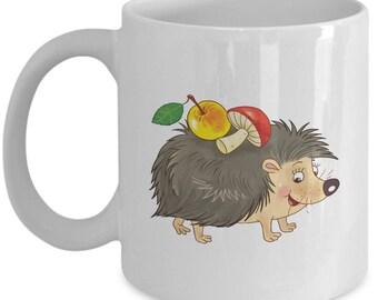 Adorable Hedgehog Mug