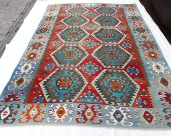 Kilim rug, Vintage kilim rug, Anatolian kilim rug, Turkish rug, Home Docer, Decorative rug, Floor rugs, Home living