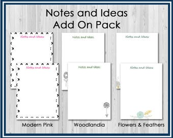 Refill: Notes and Ideas Pages for the Health Care Planner