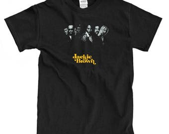 Jackie Brown Cover Black T-shirt