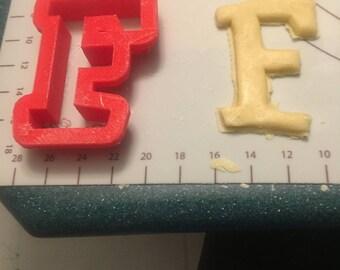 F cookie cutter