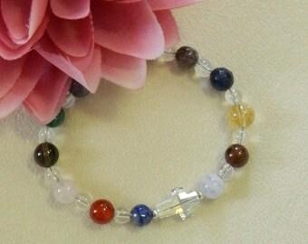 CHRONIC PAIN Bracelet,Pain Gemstone bracelet,Pain Healing Bracelet,Gemstone jewelry,Healing jewelry