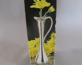 Rose Vase In Silver Plate- Original Box-