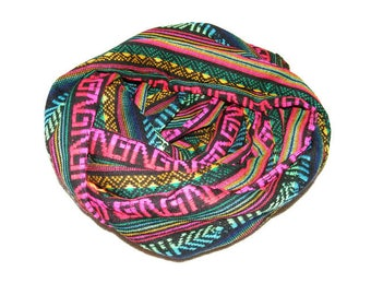 snood/neck circumference doubled multicolor woman