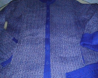Indian jacket 100% cotton, size XL