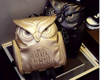 Owl Cute Bag Backpack Stylish Trendy 2018