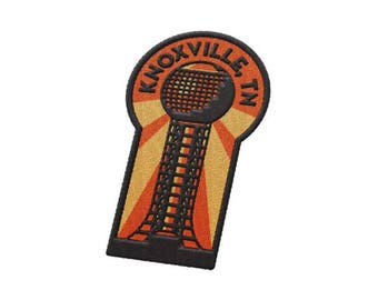 Knoxville Tennessee Travel Patch