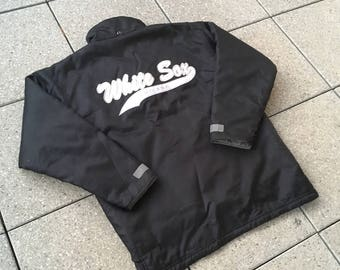 90s Chicago White Sox Jacket by CMP Vintage MLB Baseball Hip Hop