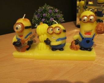 3D Candle Minions