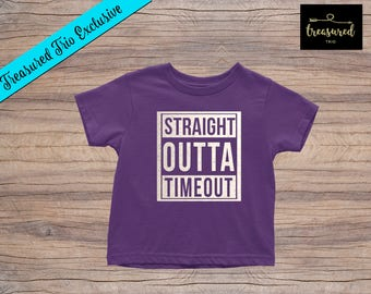 Youth Straight Outta Timeout T-Shirt