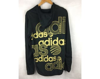 ADIDAS Neo Label Hoodies Embroidered Logo Long Sleeves Fully Zipper Large Size with Full Print at back logo Bundle item