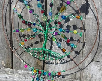 Gorgeous unique Tree Suncatcher