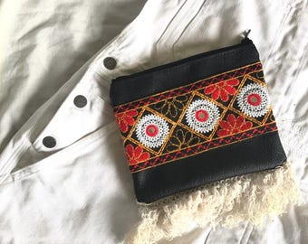 Black Mila Clutch