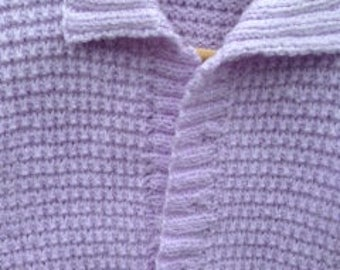 On Sale. Hand knitted cardigan