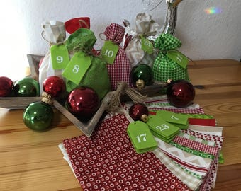 Country House * Advent Calendar bags to feel *