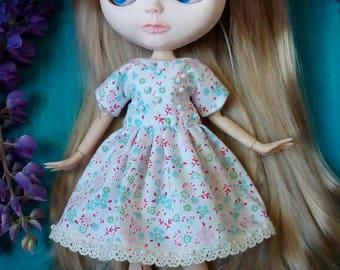 Blythe Dress, Blythe Clothes, Blythe Flower Dress, Blythe Clothing, Blythe Outfit, Blythe Summer Outfit, Blythe Fashion, Blythe Doll