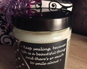 Wood Wick Candle -Fairy Candles Quotes - Marilyn Monroe Quote Candle - Famous Quotes on Candles/13.8 oz