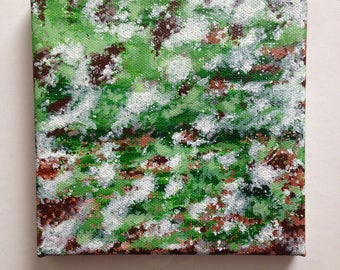 Original contemporary, abstract, acrylic painting on canvas