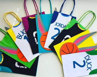 Space jam party favor bags