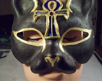 Egyptian/ Ankh Cat Mask
