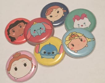 Tsum Tsum Style Buttons