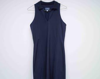 80s versus Versace zwart Bodycon Mini jurk maat 12/40 / Eighties Fashion / Little Black Dress / strakke MiniDress