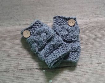 Knit Leg Warmers Baby Leg Warmers, Newborn Leg Warmers, Girl Leggings, Child Leg Warmers / Baby shower gift toddler legwarmers with buttons