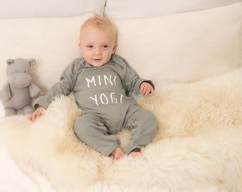 Mini Yogi baby jumpsuit