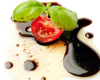 Traditional Aged Dark Balsamic Vinegar.