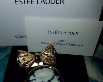 Estee Lauder Cameo solid perfume  compact 2005 Youth Dew