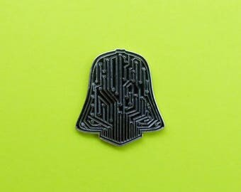 Darth Vader (Circuit) Pin