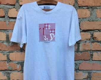 Vintage Sergio Tacchini Big Logo tshirt/Sergio Tacchini Big Logo sweetshirt/Sergio Tacchini Big Logo Jacket