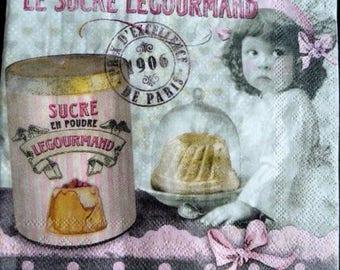Gourmet sugar paper towel