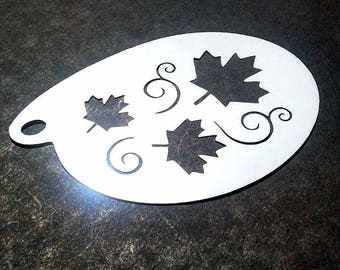 Stencil for face painting and airbrush tattoo - Fête du Canada (S1008)