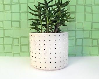 Pin Dot Planter-medium