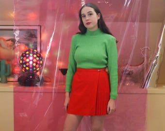 SALE! 90s Red Netball Skirt