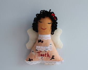 Tooth Fairy Pillow, Tooth Fairy, Tooth Fairy Pocket, Toothie Anna