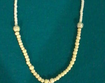 White Bird Necklace