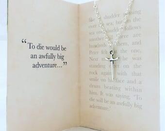 Peter Pan necklace. To die would be an awfully big adventure...