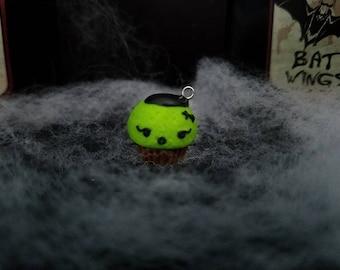 Frankenstein's Monster Cupcake Charm