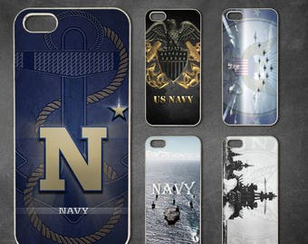 Navy iphone 7 case, iphone 7 plus case, iphone 6/6s , iphone 8 case, iphone 6 plus case, iphone x, 5/5s case, 5c case, 4/4s case
