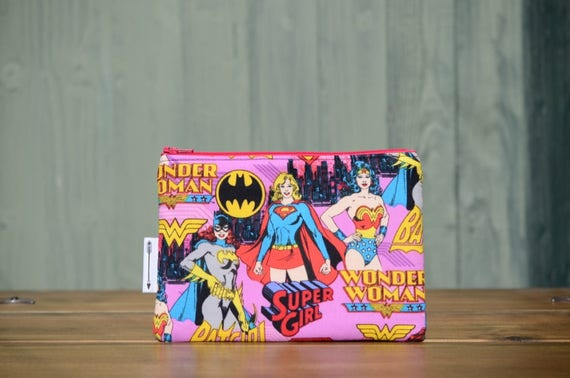 Wonder Woman zipped pouch