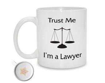 Trust Me I'm a Lawyer  | 11oz Printed Ceramic Mug