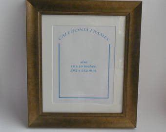 Hand made bronze wooden picture photo frame
