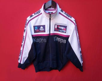 vintage kappa jacket fully zipper small men size